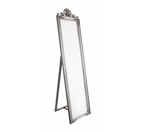 Standspiegel   Silver   Vintage Stil   45x180