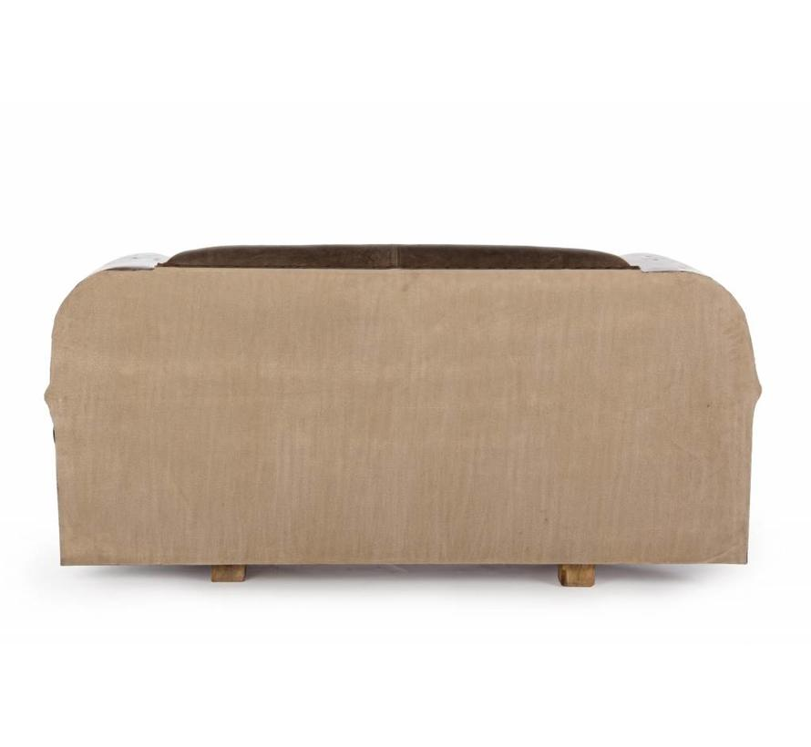 Sofa   Autofront   Leder   braun