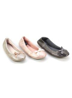 Ballerinas | Hausschuhe | gefüttert | 3 Farben
