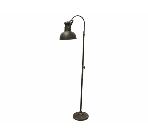 Chic Antique Stehlampe | Factory | Vintage Schwarz