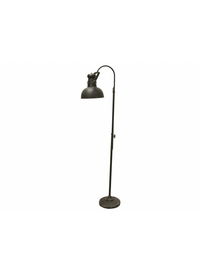 Stehlampe Factory - Vintage Schwarz