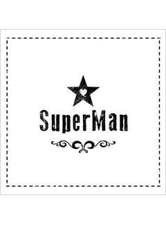 Servietten   Super Man   100% Tissue