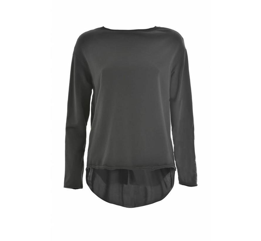 Sweatshirt | Crewneck Light Sweatshirt | Caviar Grey