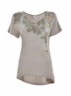 DEHA Shirt | V Neck T-Shirt | Sand