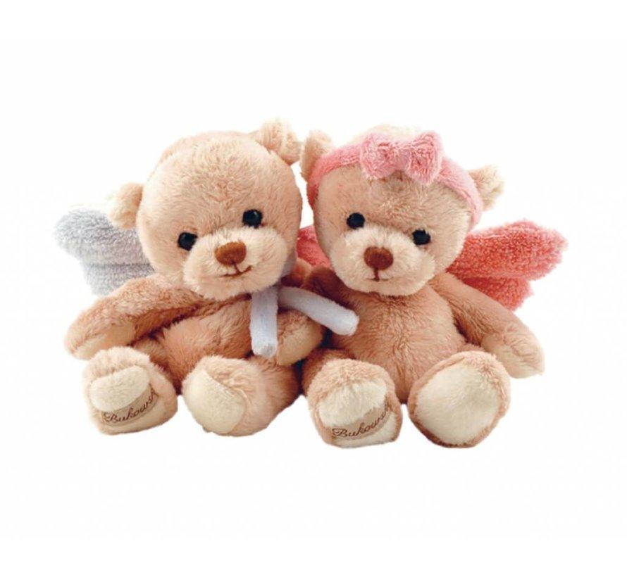 Schutzengel Teddybär - Guardian Angel Rosa & Blau