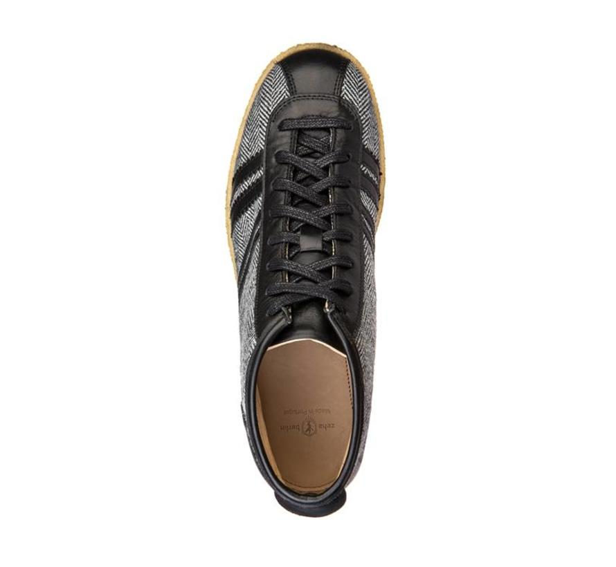 Trainer | Trainer High | Tweed, Leeds black, offwhite