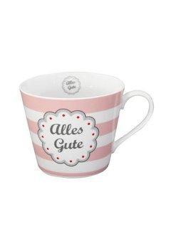 Krasilnikoff Tasse | Happy Cup | Alles Gute