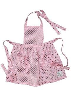 Krasilnikoff Kinder Küchenschürze | Apron | Pink Hearts