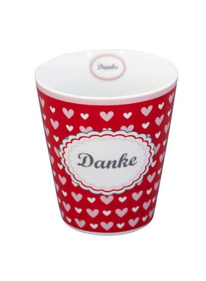 Tasse   Happy Mug - Danke