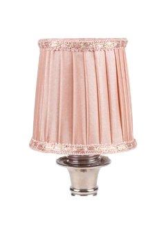 Lampenschirm | für Kronleuchter | D 8 cm | Rosa