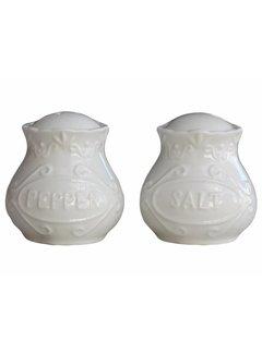 Chic Antique Salz & Pfeffer Set | Provence | Weiss