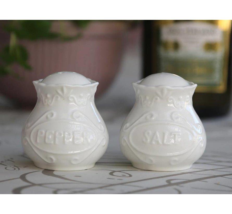 Salz & Pfeffer Set | Provence | Weiss