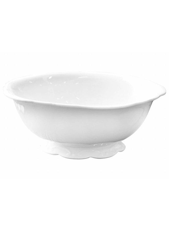 Salatschüssel Provence - Porzellan Weiss