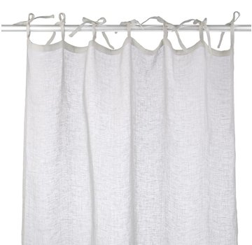 Leinen Vorhang | Weiss | 110x280 cm
