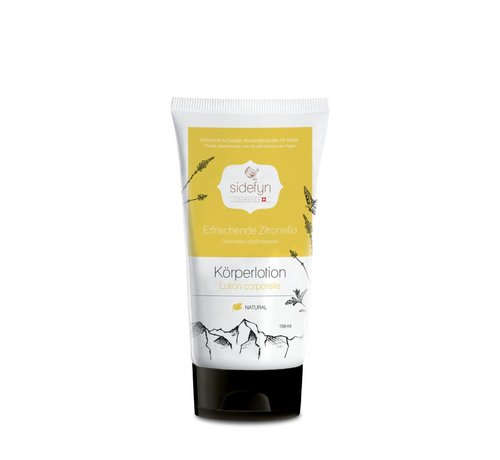Sidefyn Cosmetics Körperlotion | Erfrischende Zitronella