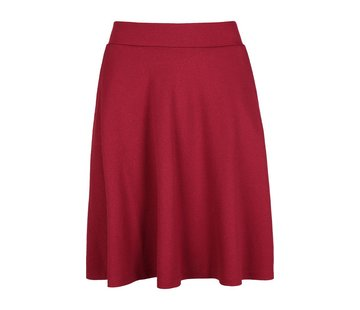King Louie Rock | Sofia Skirt Milano Crepe | beaujolais red