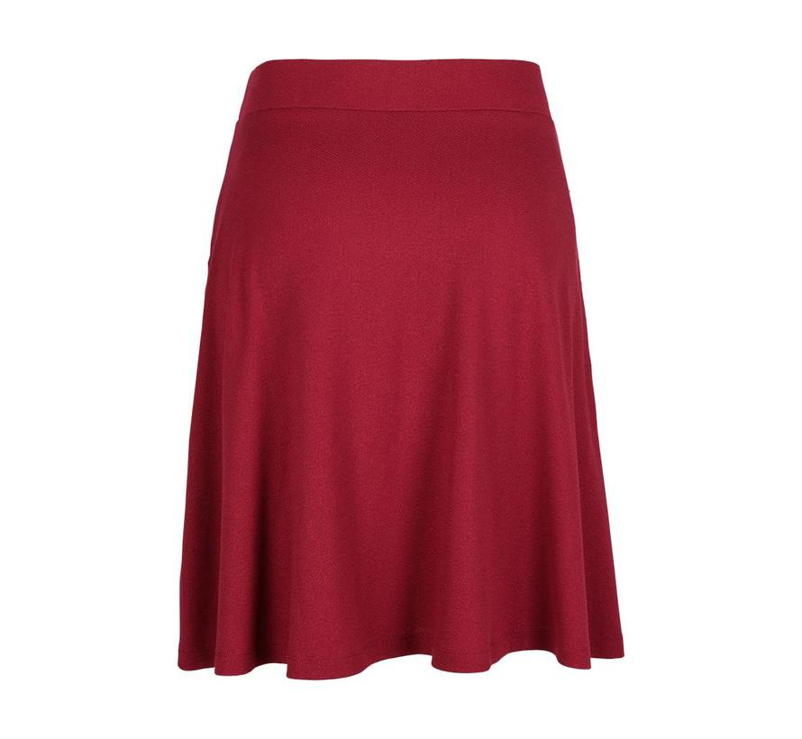 Rock | Sofia Skirt Milano Crepe | beaujolais red