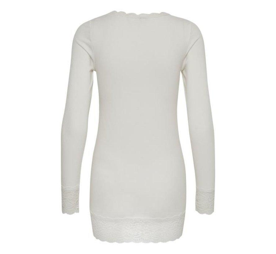 Shirt | Vanessa L/S T-shirt | Chalk