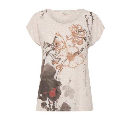 Cream Clothing Shirt | Ally T-shirt | Spring Rose melange