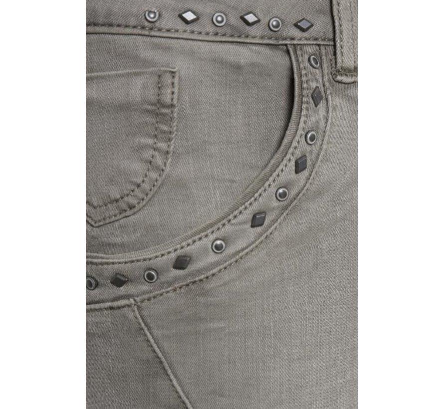 Hose | Mila Twill - Shape fit | Grey Stone