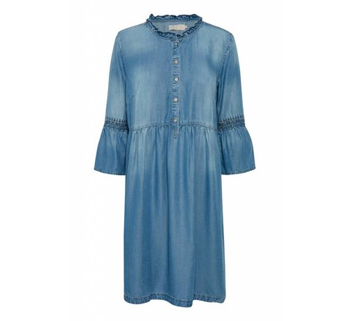 Cream Clothing Kleid | Lussa denim Dress | Light blue denim