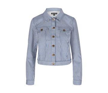 King Louie Jacke | Janey Jacket Americana Stripe | Palace Blue