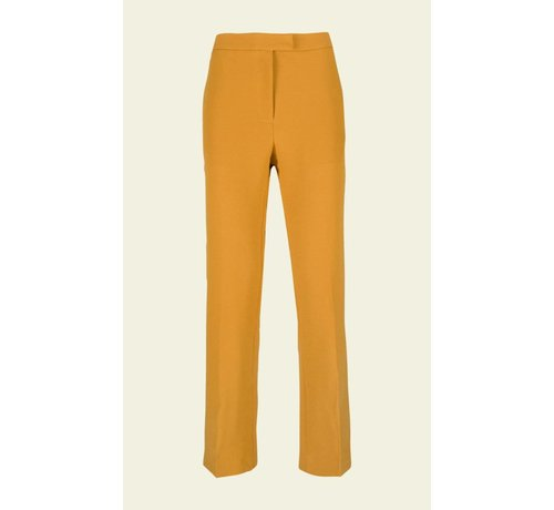 King Louie Hose | Luz Pants Heavy Polyester Crepe | Honey Yellow