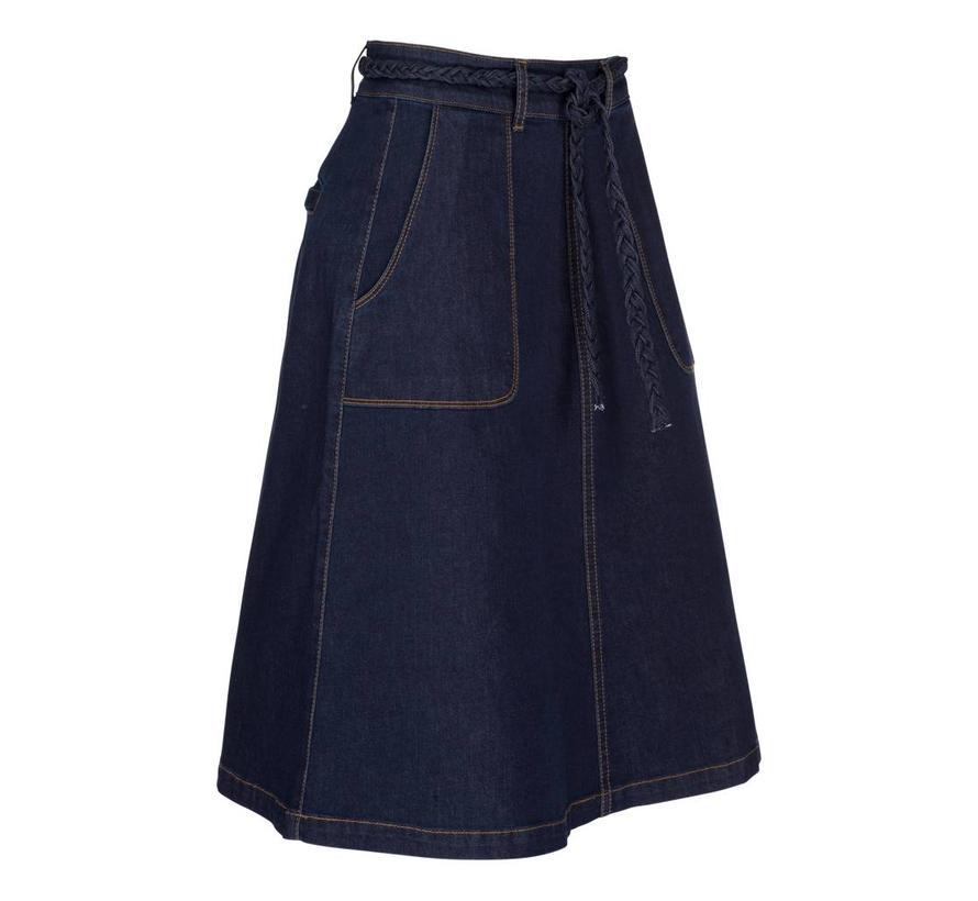 Rock | Rosa Skirt Denim | Ink Blue