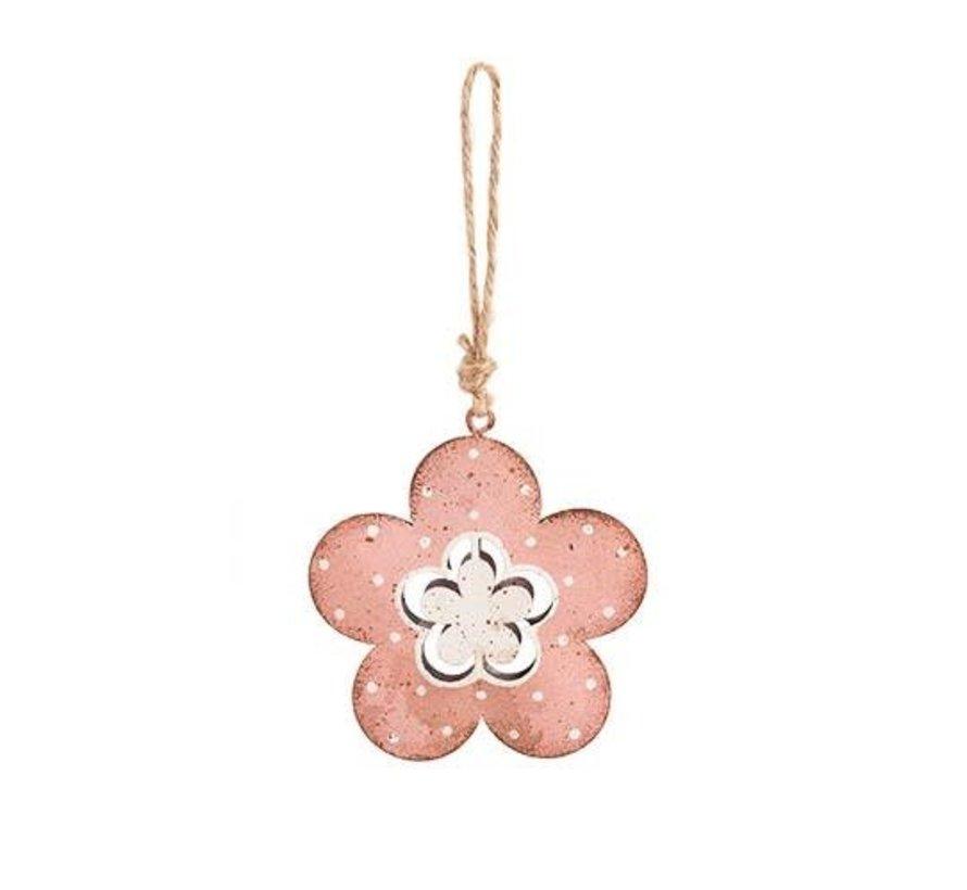 Dekoanhänger | Blume | Rosa | Klein