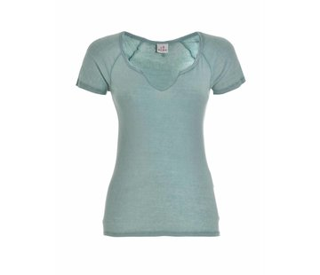 DEHA Shirt | V T-SHIRT | MINT