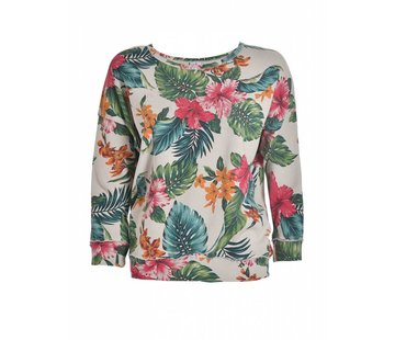 DEHA Sweatshirt | CREW-NECK SWEATSHIRT | SUMMERPRINT