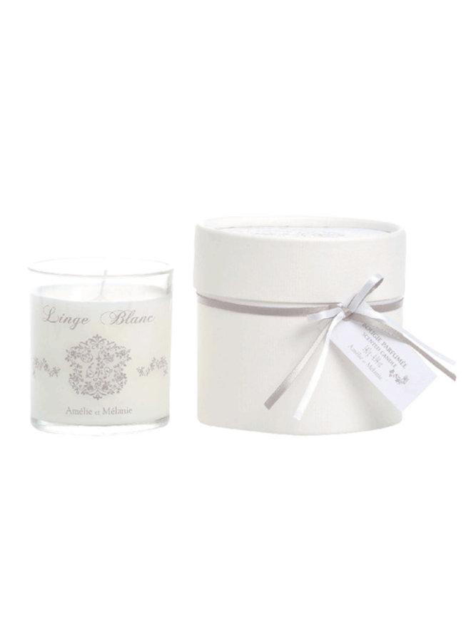 Duft Kerze 140gr - Linge blanc