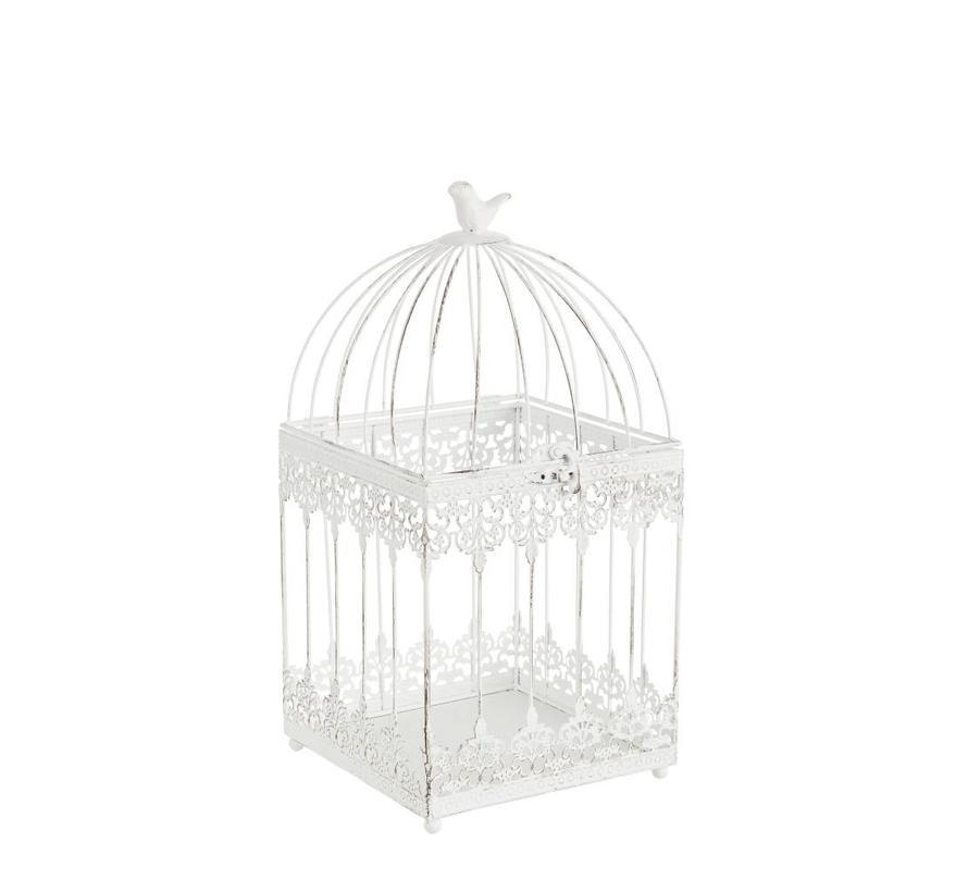 Deko Vogelkäfig Eckig | Klein