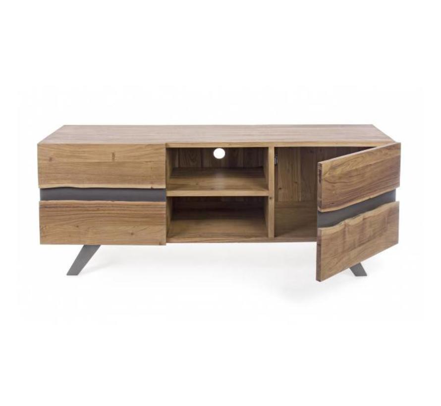 TV-Möbel Aron   Massivholz   160x44x65 cm