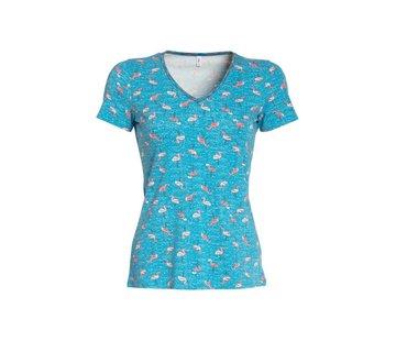 Blutsgeschwister Shirt | luau kalamuku shirt | flamingo bingo