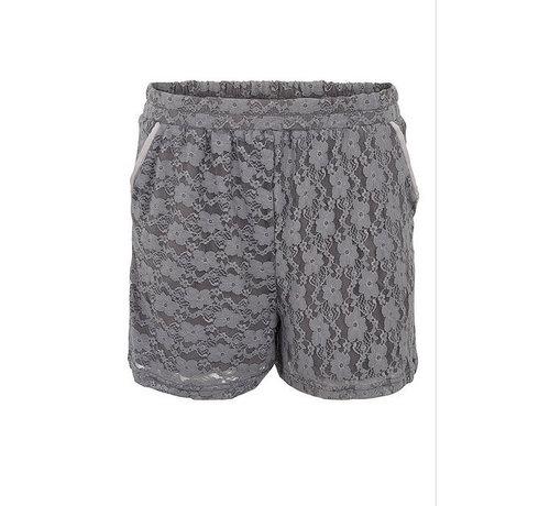 Tina Wodstrup Shorts mit Spitze | Iron grey | Grau