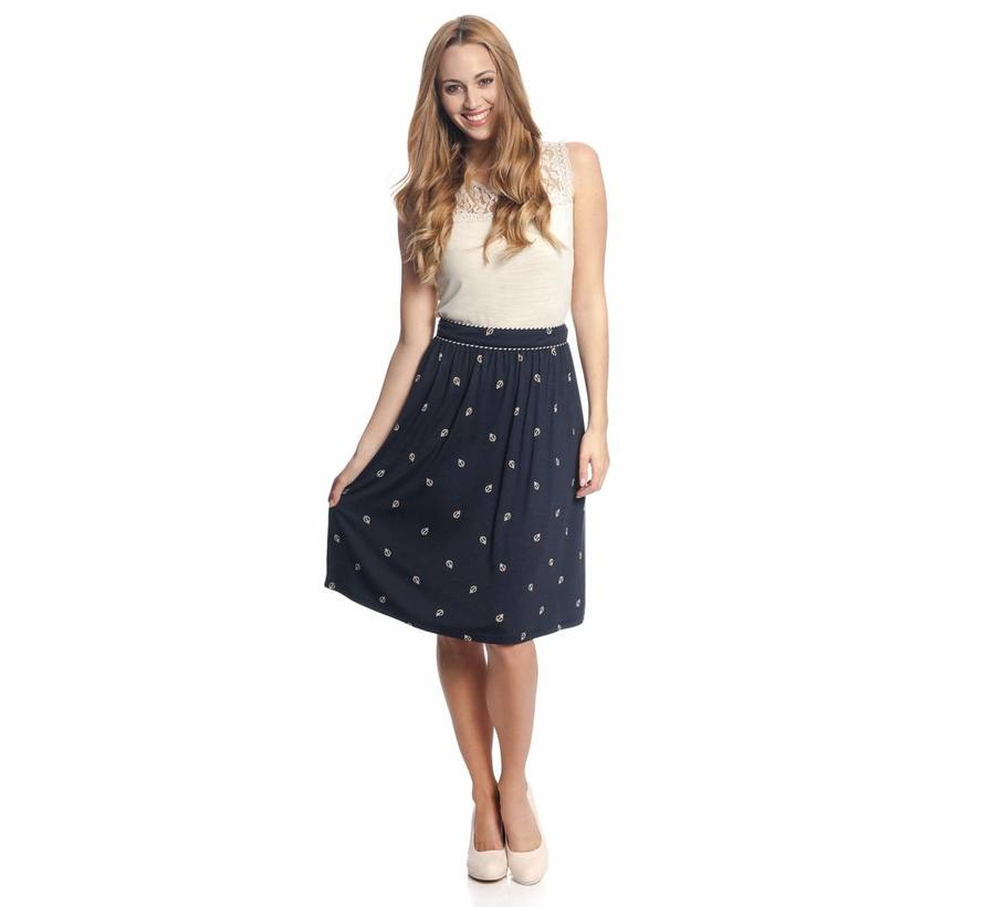 Rock | Ahoi Girl Skirt | navy