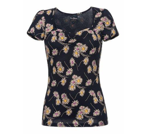 Vive Maria Shirt | Dancing Daisy Shirt | blue