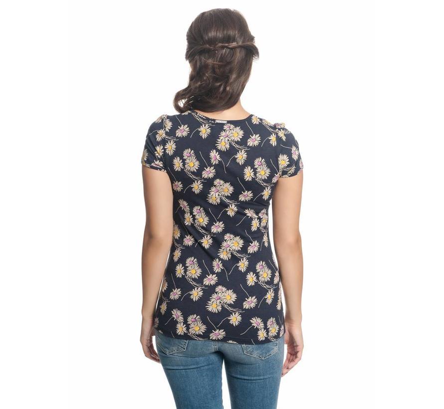 Shirt | Dancing Daisy Shirt | blue