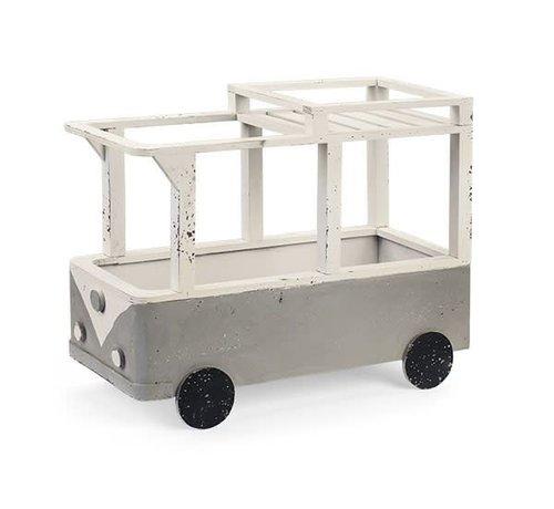 VW-Bulli | VW Bus | Hippiebus | Holz Deko