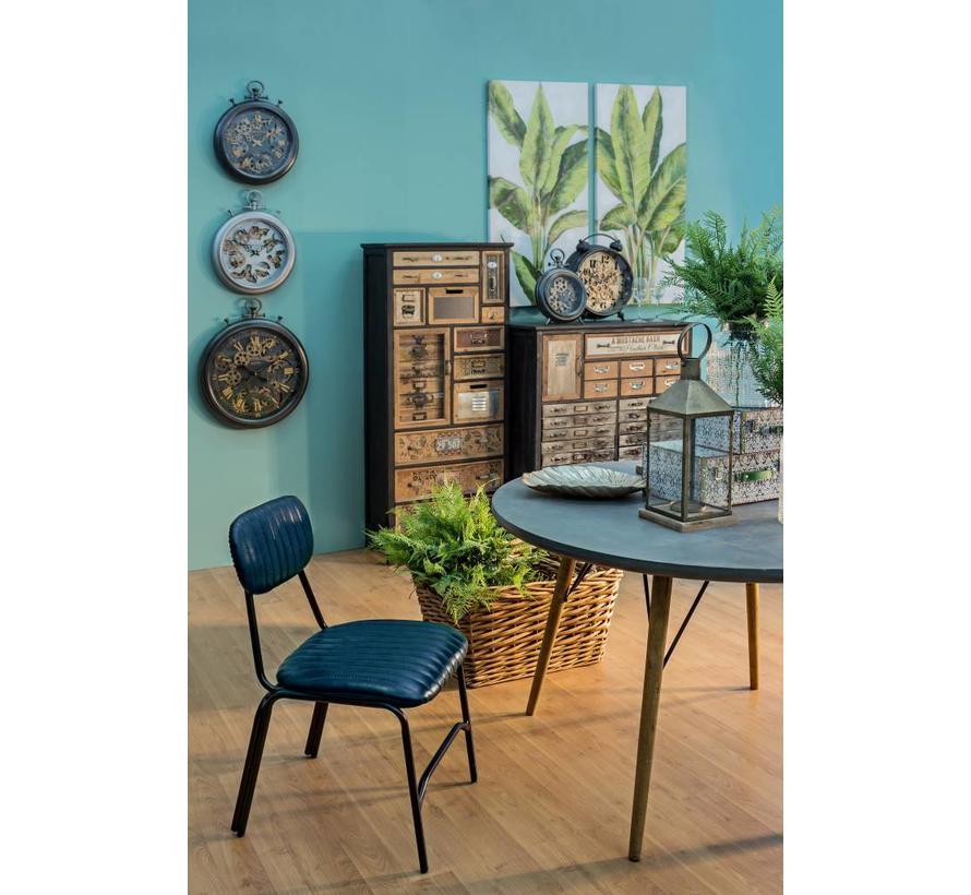 Tischuhr Vintage | Schwarz | 33x26cm