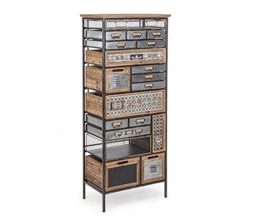 Vintage Büro Möbel | 19 Fächer