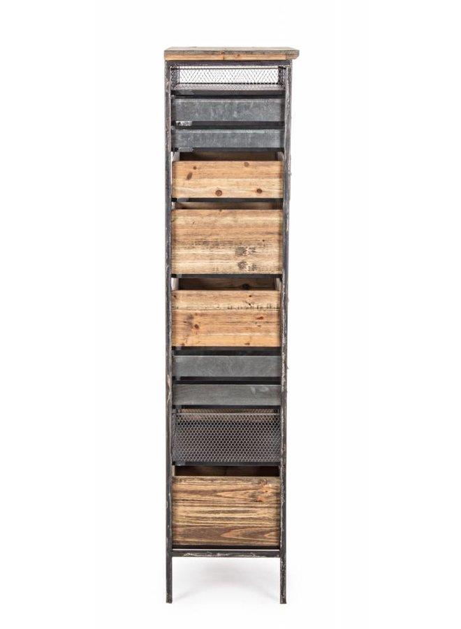 Vintage Büro Möbel mit 19 Fächer