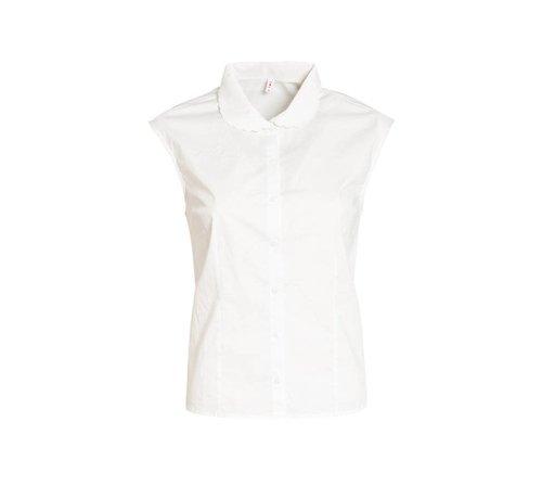 Blutsgeschwister Bluse | tender slenderness blousette | fresh white