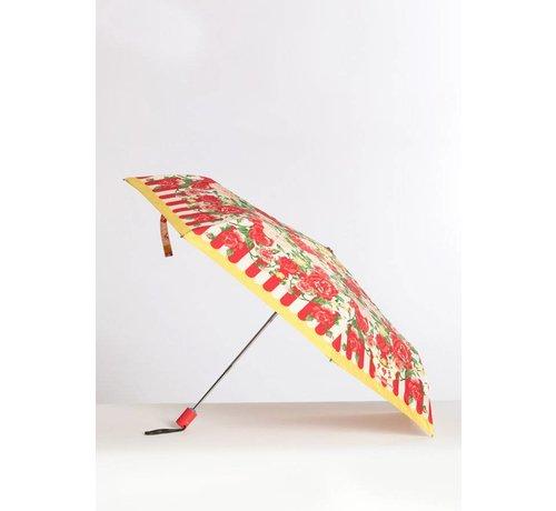 Blutsgeschwister Schirm   ciao bella umbrella   sunshine rose