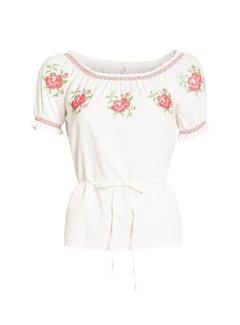 Blutsgeschwister Bluse | pennys blouse | white foxtrot