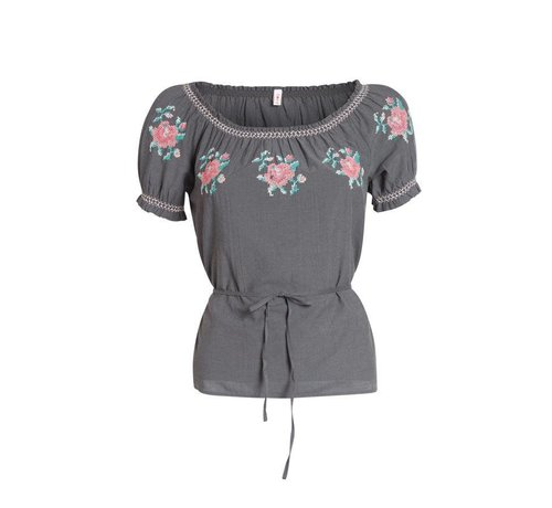 Blutsgeschwister Bluse | pennys blouse | black johnny