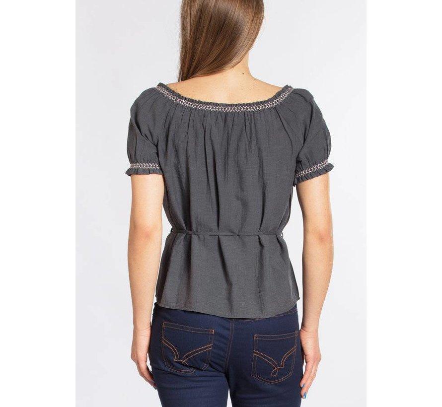 Bluse | pennys blouse | black johnny