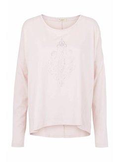 Tina Wodstrup Langarmshirt | Blouse with print | Mauve