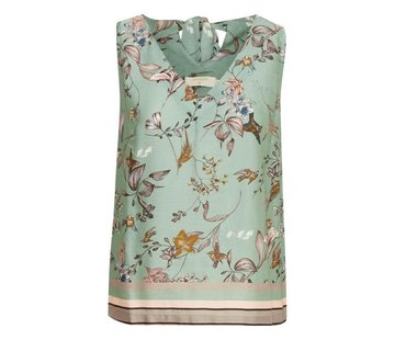 Cream Clothing Top   Blake Top   Lily Green